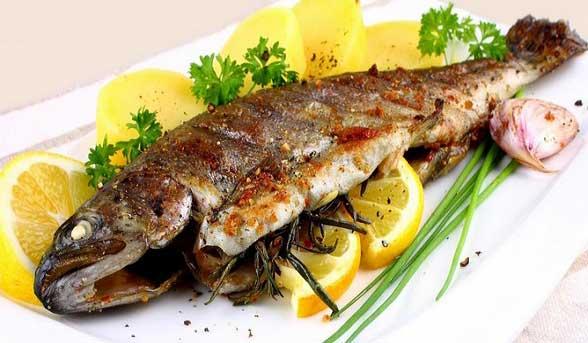 پیام های تغذیه ای مصرف ماهی