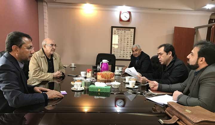 جلسه با جناب دکتر کی خواه نائب رئیس کمیسیون کشاورزی مجلس در خصوص نحوه اجرای وظایف تشکل ها در قانون افزایش بهره وری