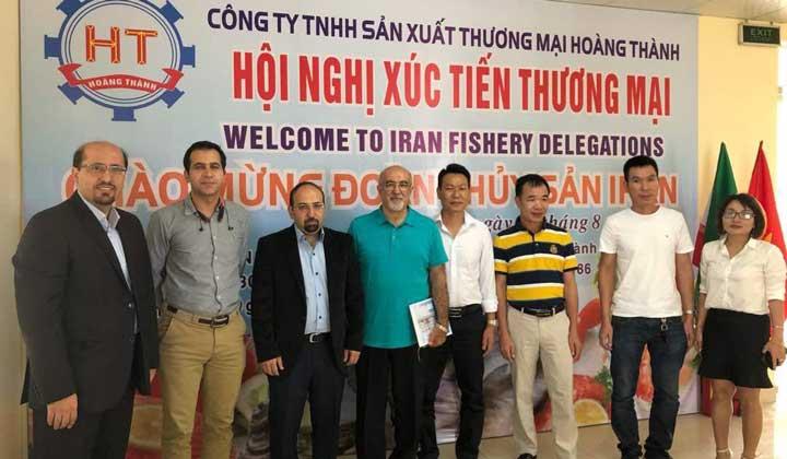 گزارش دبیر کل اتحادیه از سفر هیئت شیلاتی ایران به ویتنام