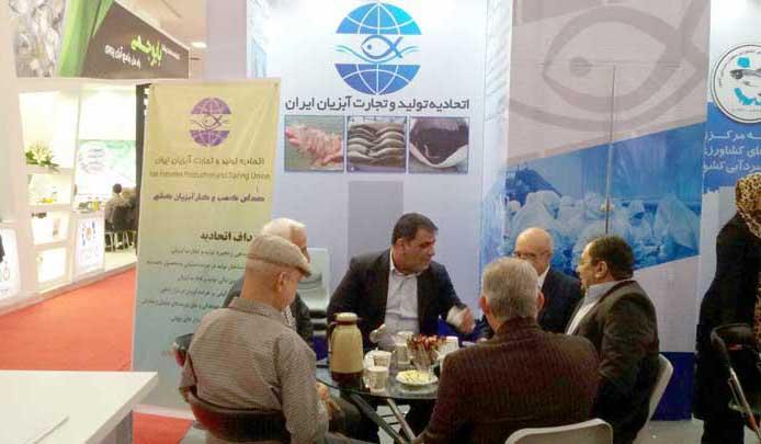 بازدید و استقبال شرکت کنندگان در نمایشگاه IFEX از غرفه اتحادیه