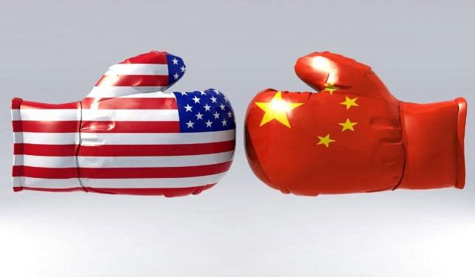 تقابل چین و آمریکا