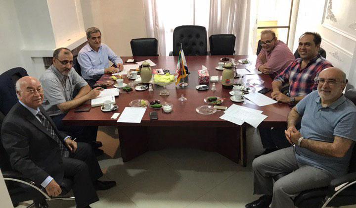برگزاری جلسه هیئت مدیره کانون دانش صنعت و بازار آبزیان در دفتر اتحادیه