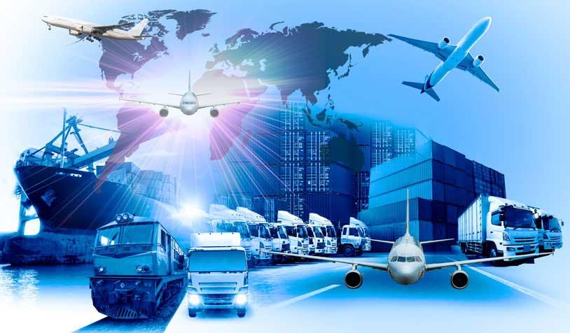 ارائه انواع خدمات حمل و نقل بین المللی دریایی، زمینی و هوایی توشه بر