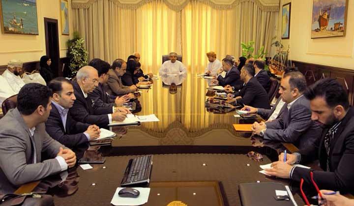 مذاکرات تجاری جدى و موفق بخش خصوصی ایران و عمان در حوزه شیلات