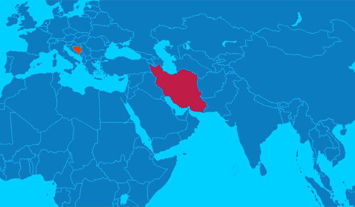صادرات غذای آبزیان به کشوربوسنی و هرزگوین