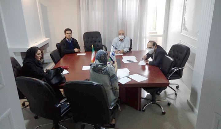 برگزارى جلسه هماهنگى پروژه پیاده سازى و اجراى ساختار سامانه جامع  ثبت اطلاعات و کد رهگیرى صید و فراورى و صنایع تبدیلى آبزیان