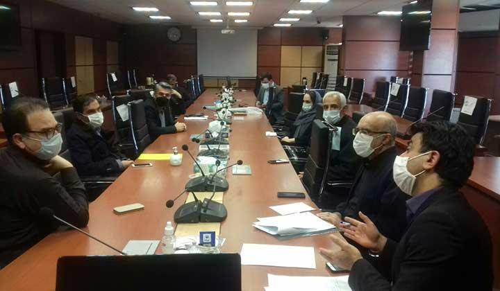 جلسه ماهیانه هماهنگی اتحادیه با سازمان دامپزشکی