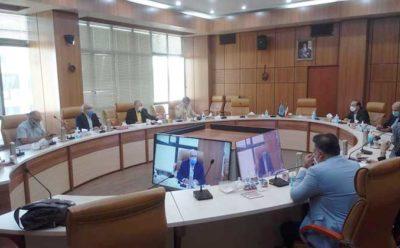 گزارش جلسه بررسی راه کارهای حمایت از صادرکنندگان آسیب دیده از غرق شدن کشتی حامل کانتینرهای آبزیان ایران